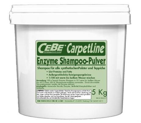 Enzyme Shampoo Pulver