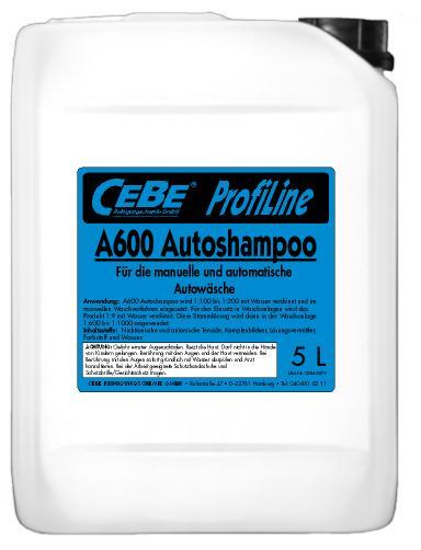 A600 Autoshampoo